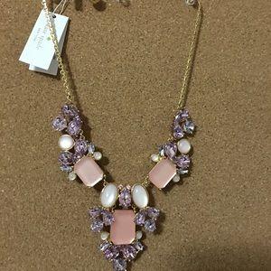 Kate Spade Glitzy Spritz Bib Necklace